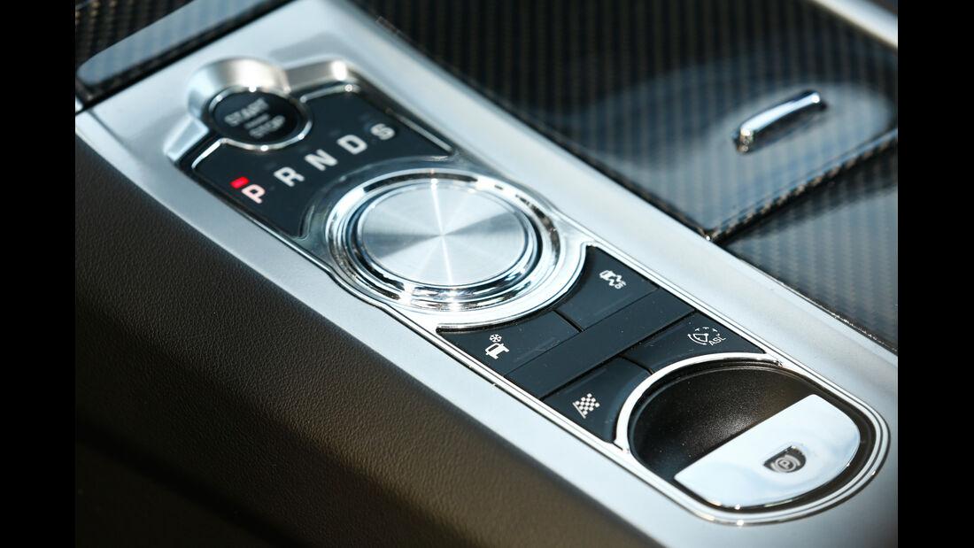 Jaguar XFR-S, Mittelkonsole, Bedienelemente