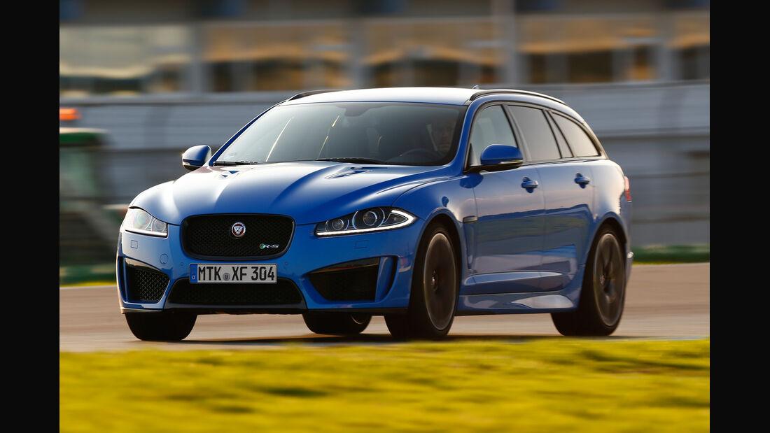 Jaguar XFR-S Sportbrake, Frontansicht