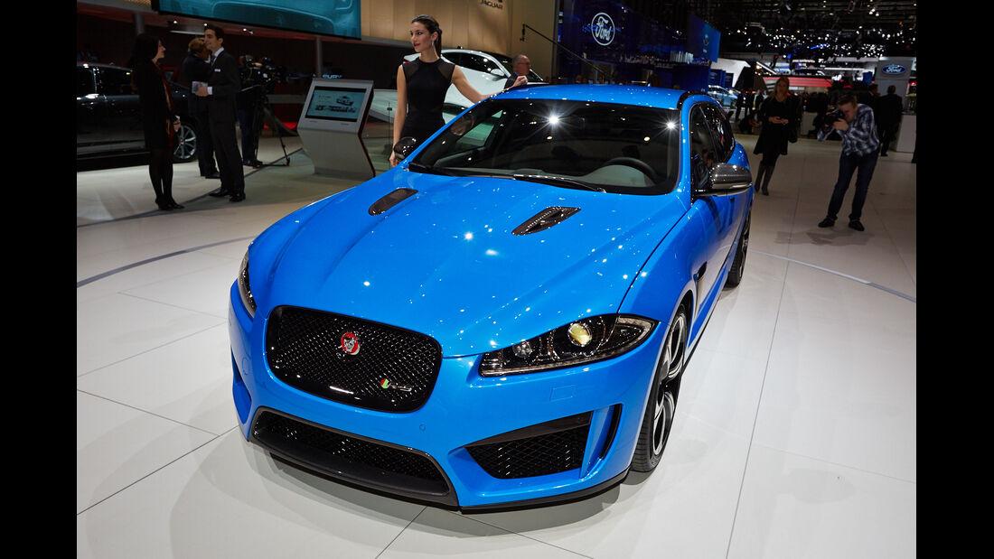 Jaguar XFR-S Sportbrake, Genfer Autosalon, Messe, 2014, Genfer Autosalon, Messe, 2014