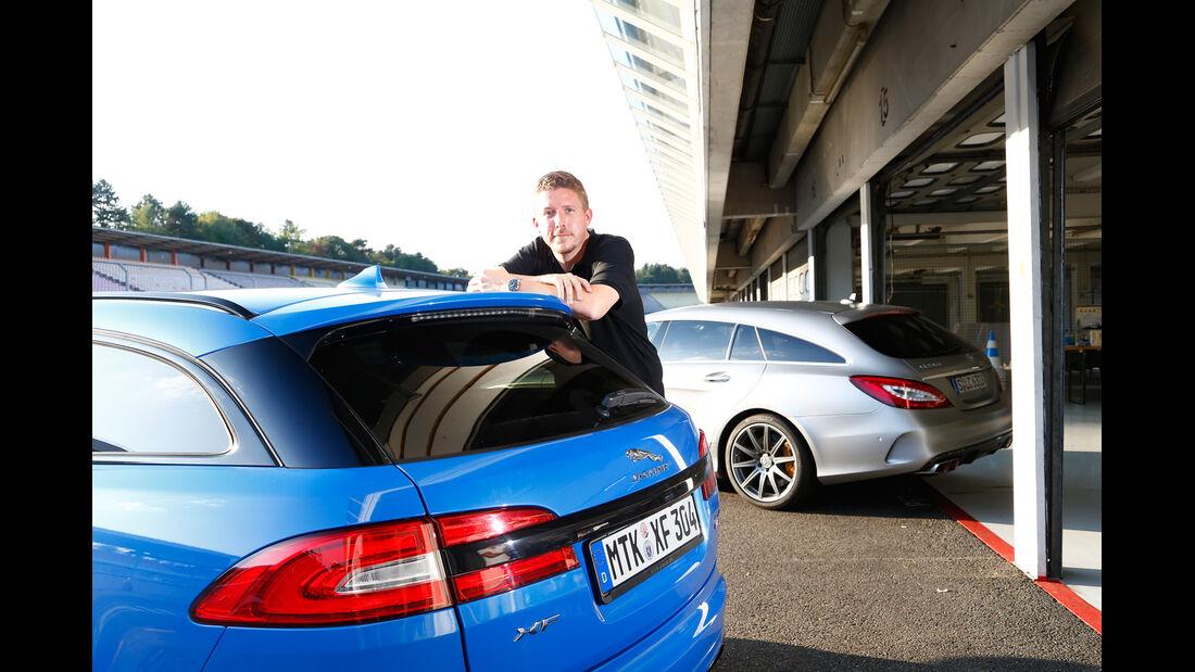 Jaguar XFR-S Sportbrake, Mercedes CLS 63 AMG S Shooting Brake, Jens Dralle
