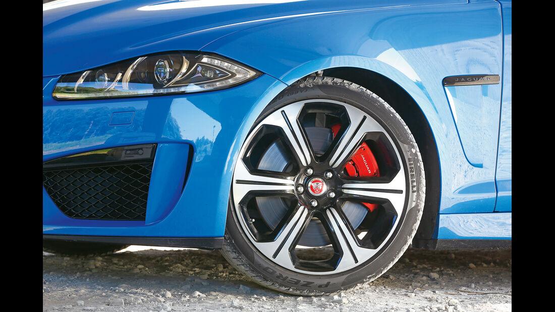 Jaguar XFR-S Sportbrake, Rad, Felge, Bremse