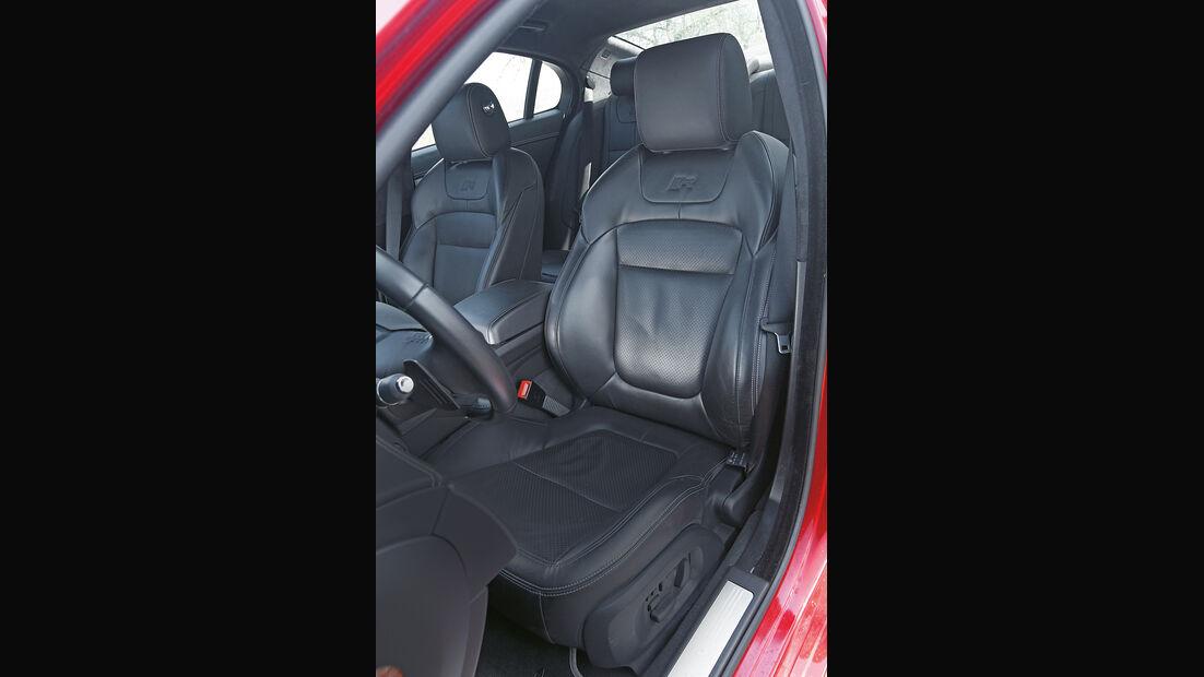 Jaguar XFR, Sitz