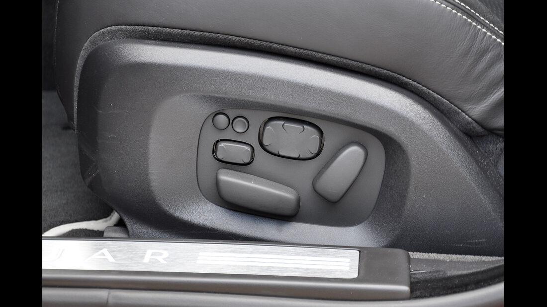 Jaguar XFR, Sitzverstellung