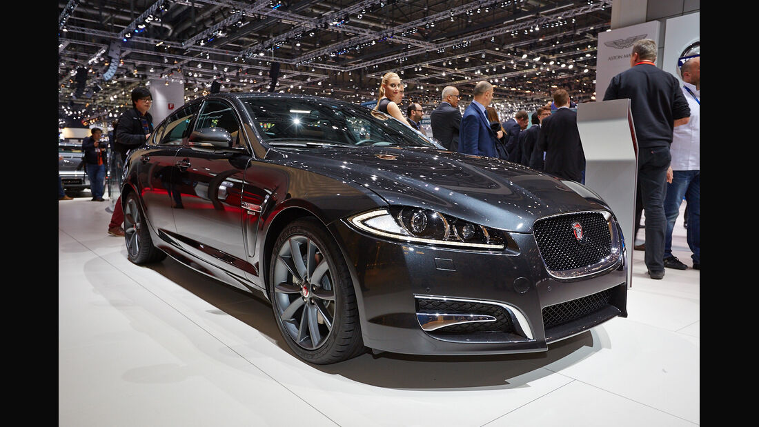 Jaguar XFR Sport-Paket, Genfer Autosalon, Messe, 2014