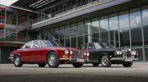 Jaguar XJ 12 und Rolls-Royce Silver Shadow