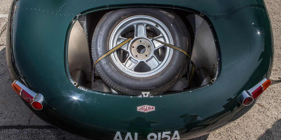 Jaguar XJ 13, Ersatzrad