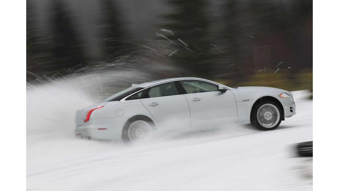 Jaguar XJ 3.0 AWD, Seitenansicht