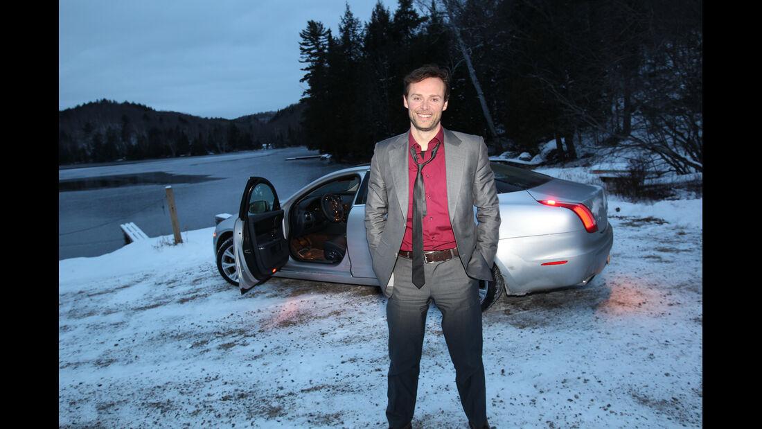 Jaguar XJ 3.0 AWD, Seitenansicht, Alexander Bloch