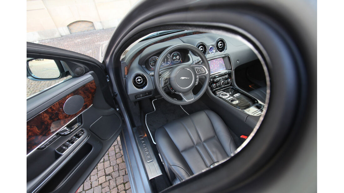 Jaguar XJ 3.0 D, Innenraum