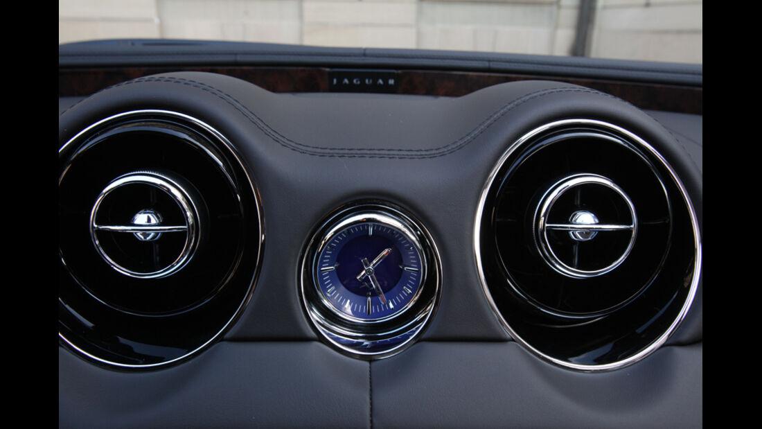 Jaguar XJ 3.0 D, Lüfterdüsen