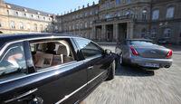 Jaguar XJ 3.0 D, VW Phaeton V6 TDI