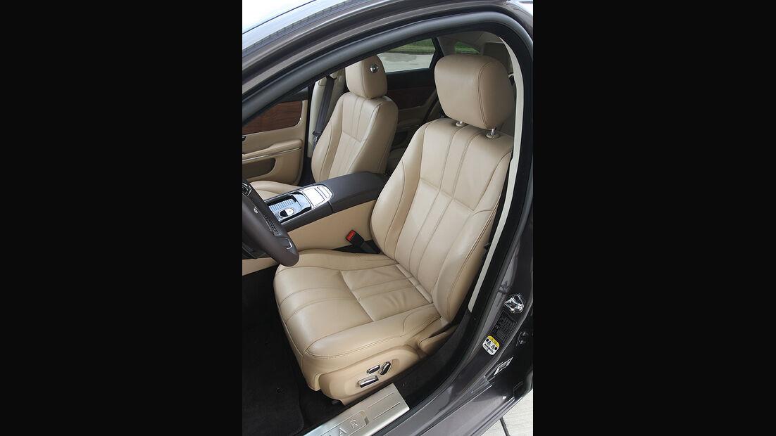 Jaguar XJ 3.0 Diesel, Vordersitz