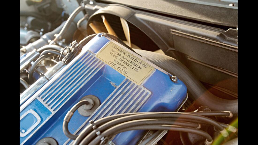 Jaguar XJ 40 Stealth 340 Biturbo, Motor