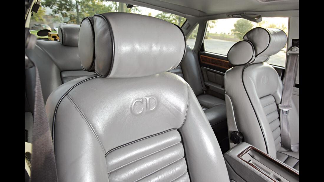 Jaguar XJ 40 Stealth 340 Biturbo, Sitze