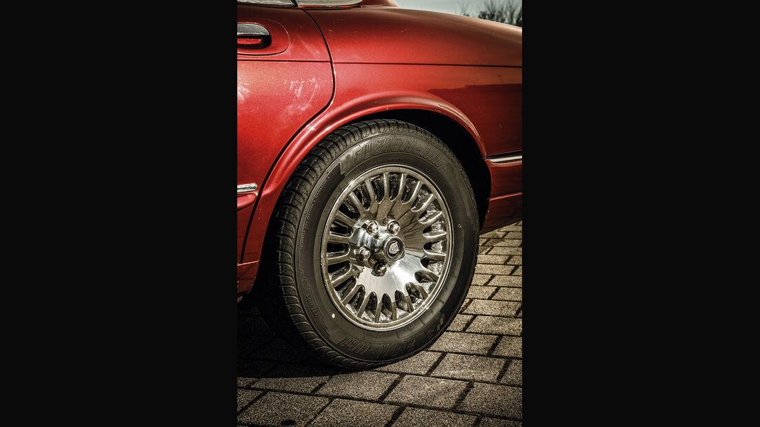 Jaguar XJ 6 (X 300), Rad, Felge