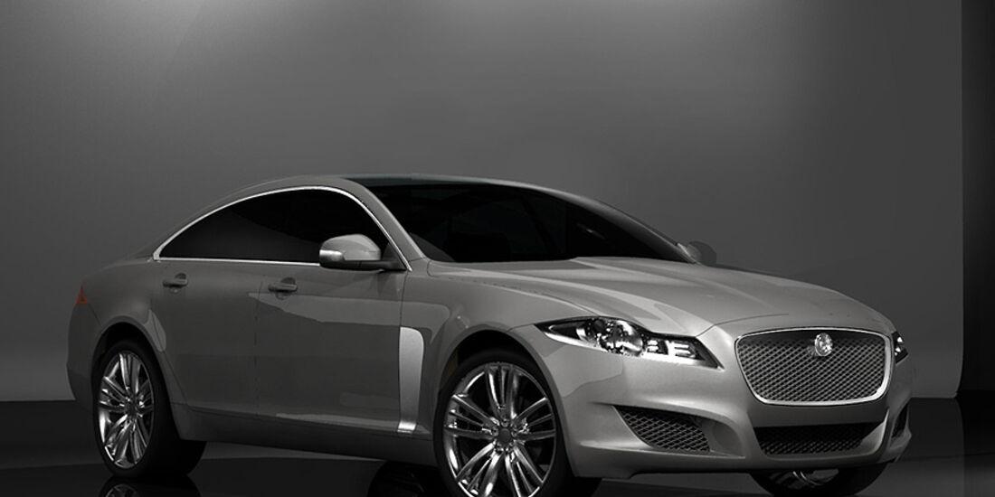 Jaguar XJ Design Entwicklung Skizzen Zeichnungen