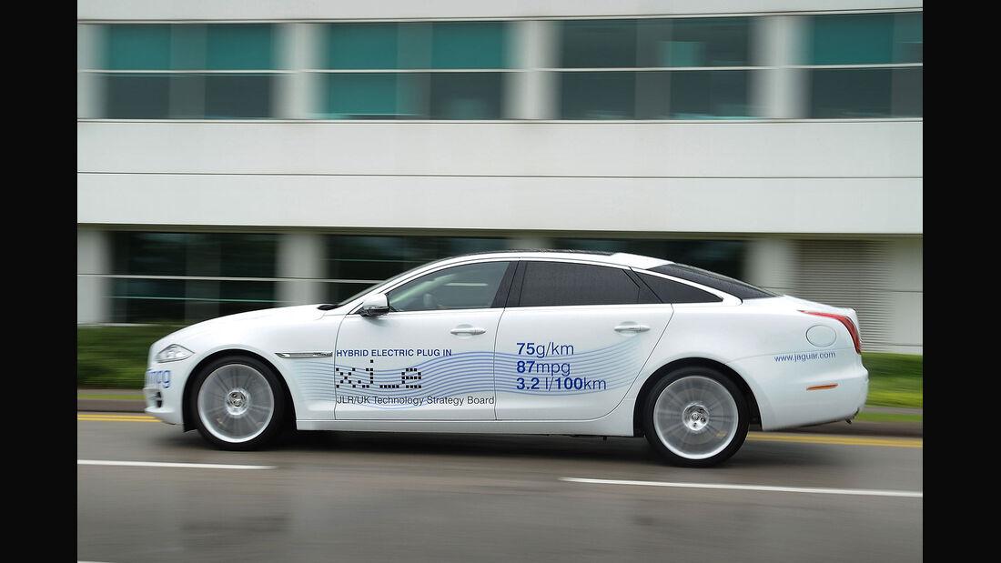 Jaguar XJ Hybrid Concept Goodwood 2012