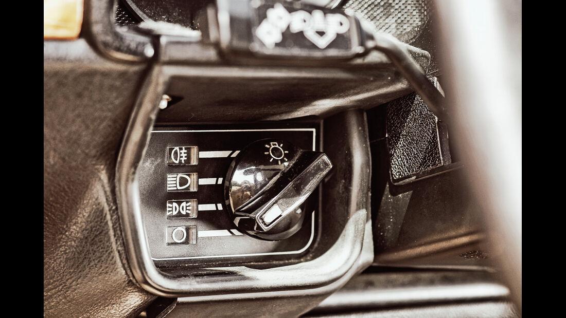 Jaguar XJ-S 3.6, Bedienungselemente