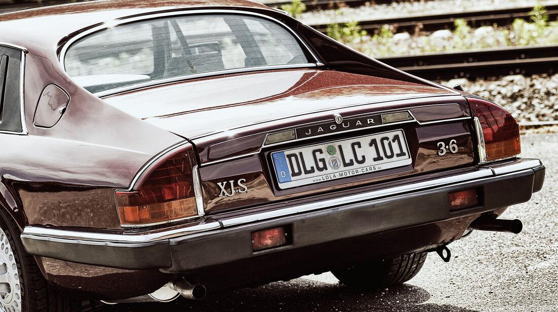 Jaguar XJ-S 3.6, Heck