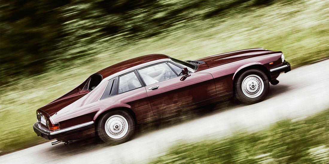 Jaguar XJ-S 3.6, Seitenansicht