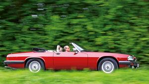 Jaguar XJ-S 5.3, Seitenansicht