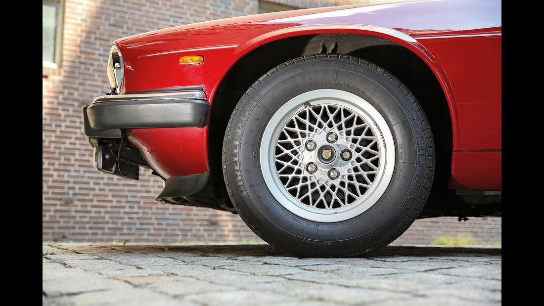 Jaguar XJ-S, Rad, Felge