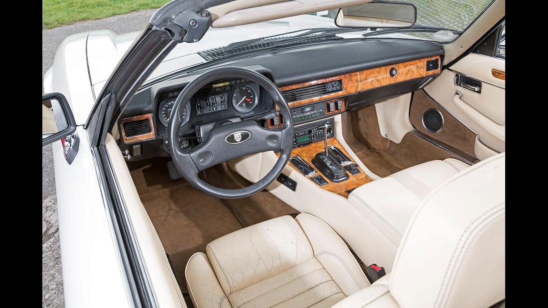 Jaguar XJ-S V12 Convertible, Cockpit