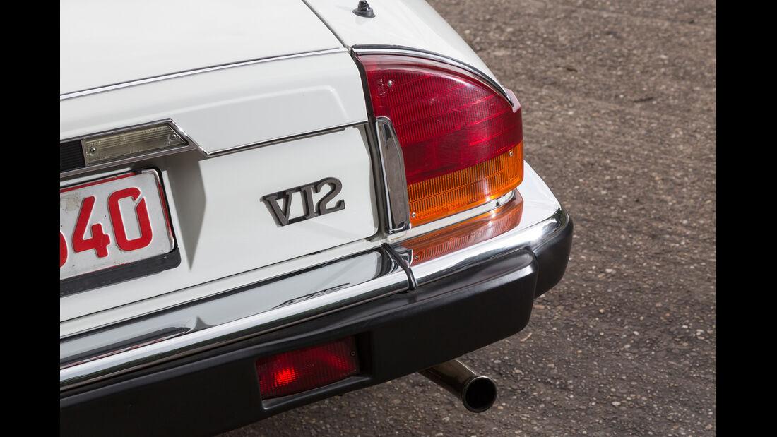 Jaguar XJ-S V12 Convertible, Heckleuchte