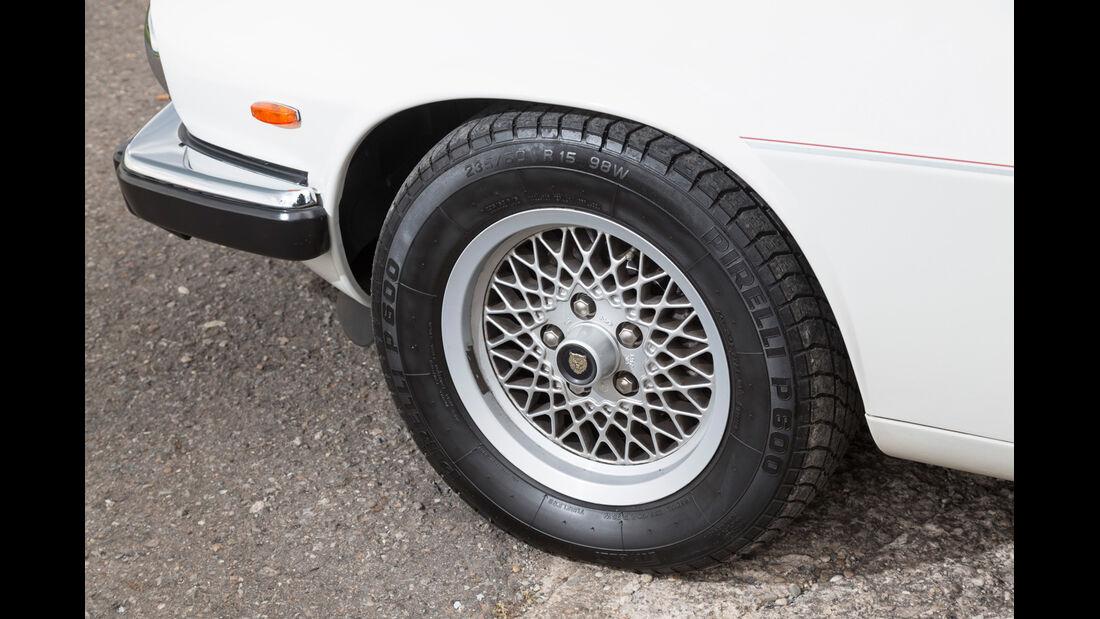 Jaguar XJ-S V12 Convertible, Rad, Felge