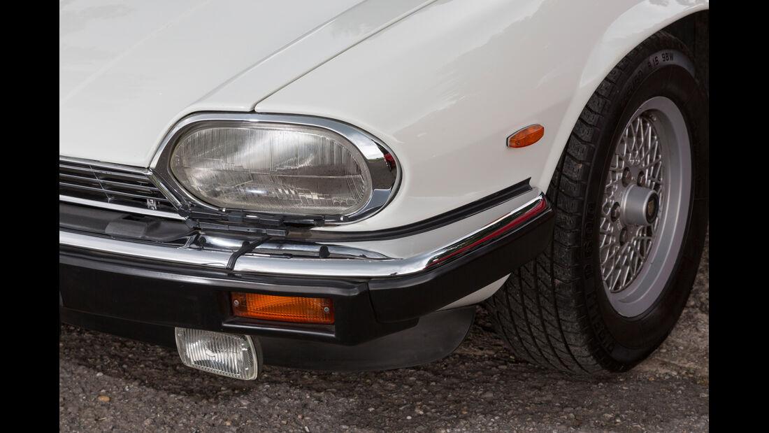 Jaguar XJ-S V12 Convertible, Scheinwerfer