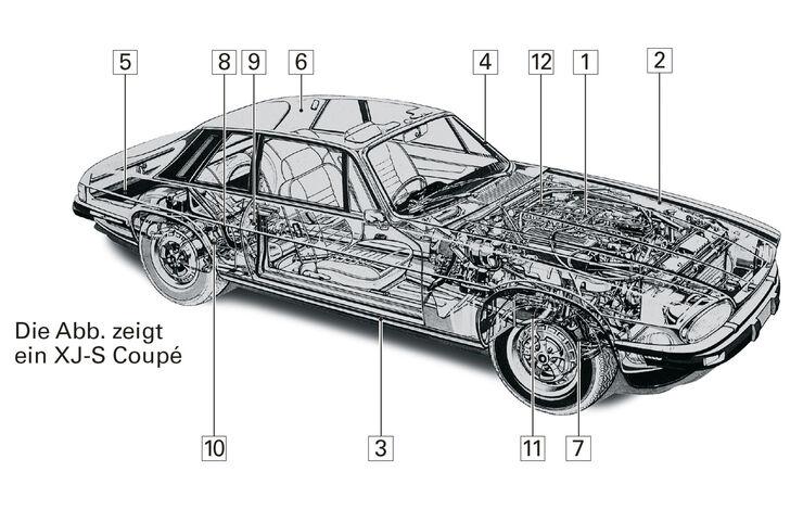 Jaguar XJ-S V12 Convertible, Schwachpunkte, Igelbild