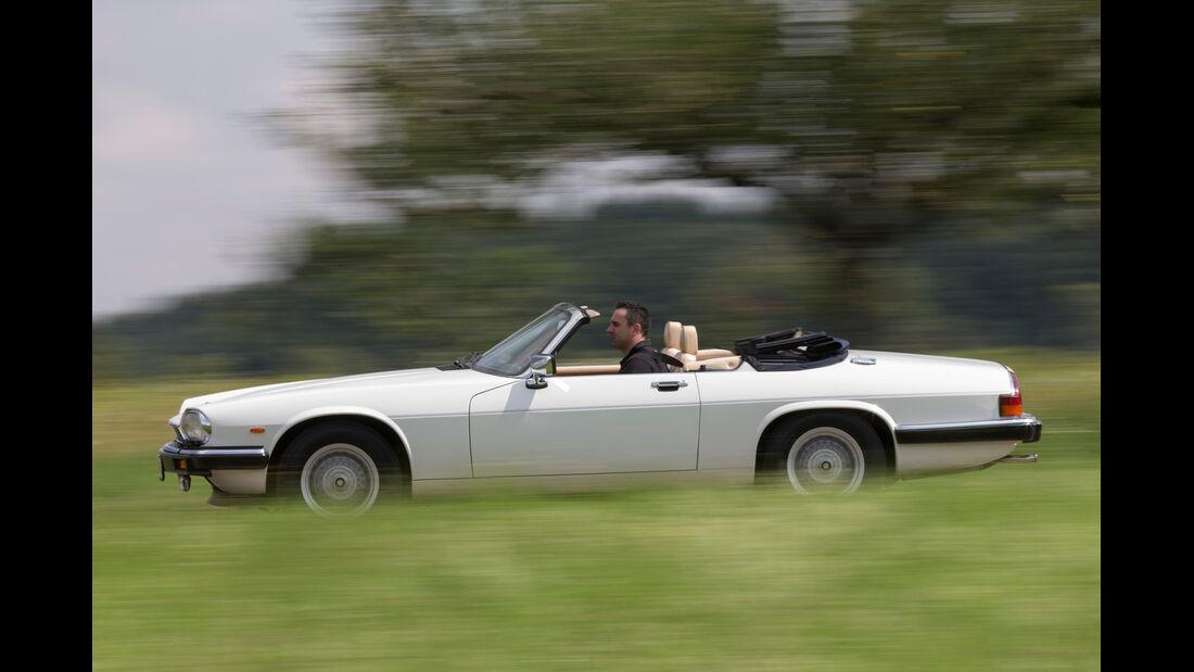 Jaguar XJ-S V12 Convertible, Seitenansicht