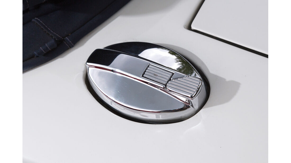 Jaguar XJ-S V12 Convertible, Tankdeckel
