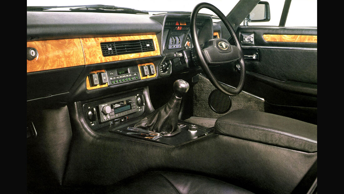 Jaguar XJ-SC, Heckansicht