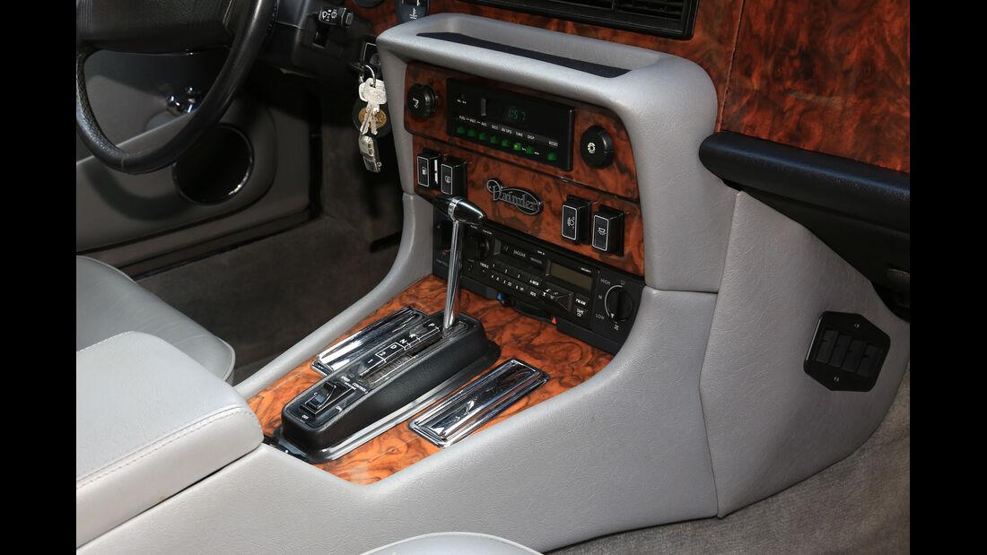 Jaguar XJ, Schalthebel, Schaltknauf