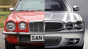Jaguar XJ Two face