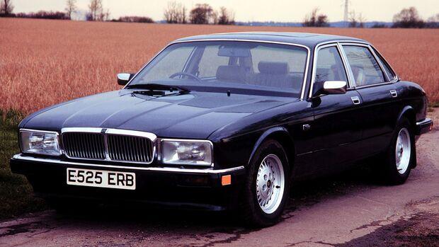 Jaguar XJ40 3.6 Front