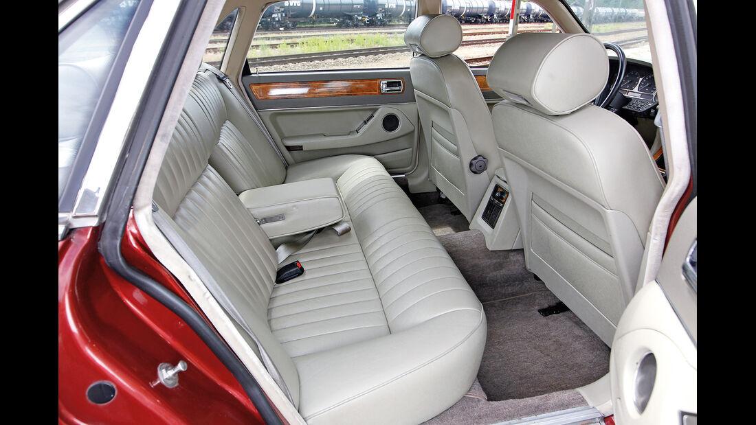 Jaguar XJ6 4.0, Fondsitze
