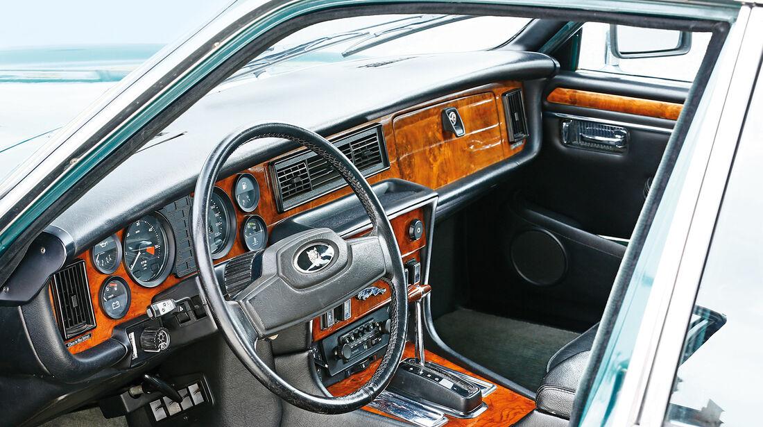 Jaguar XJ6 4.2, Cockpit