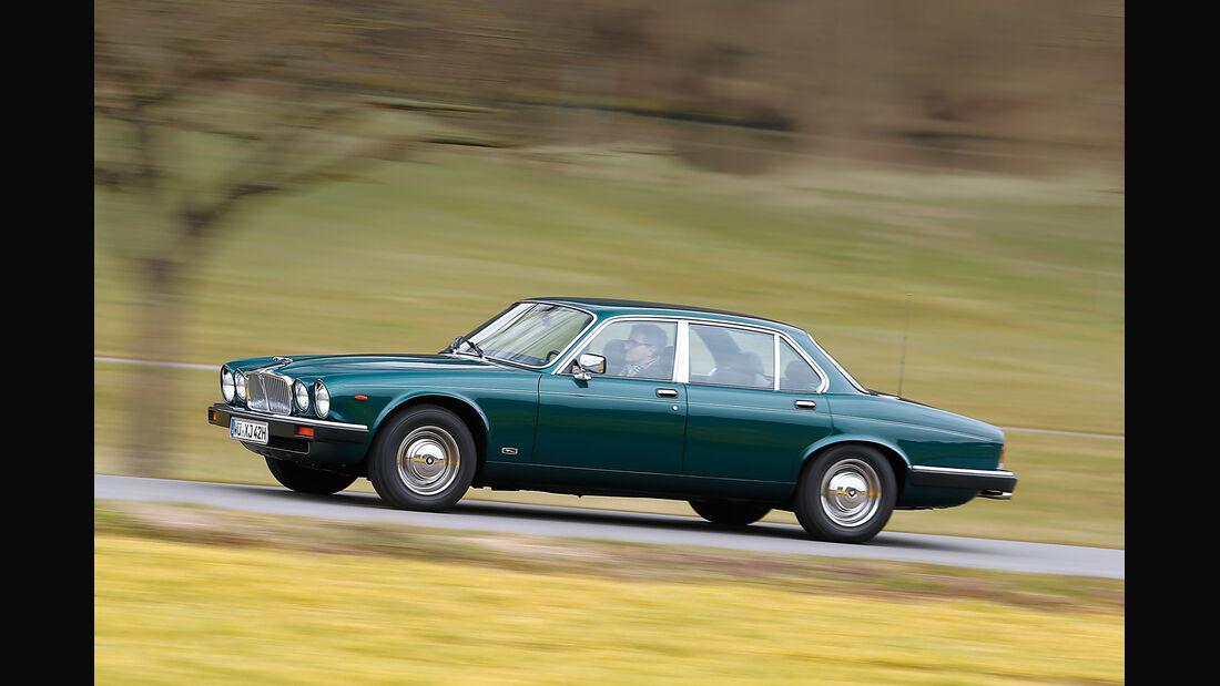 Jaguar XJ6 4.2, Seitenansicht
