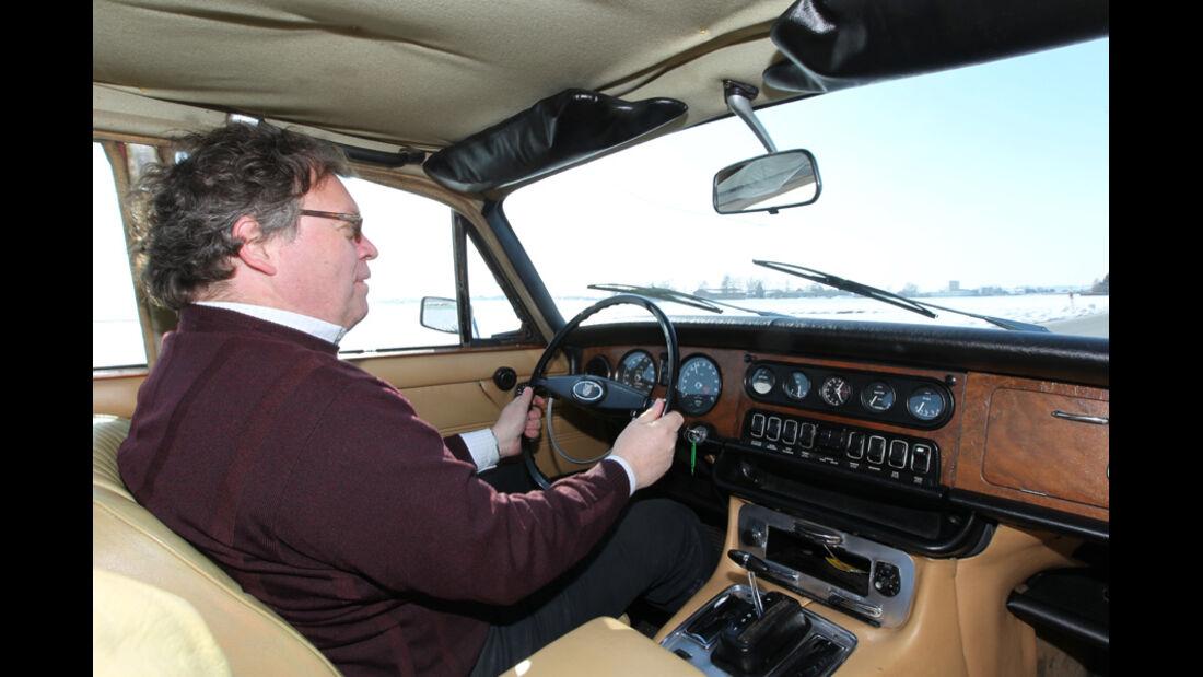 Jaguar XJ6, Alf Cremers, Cockpit