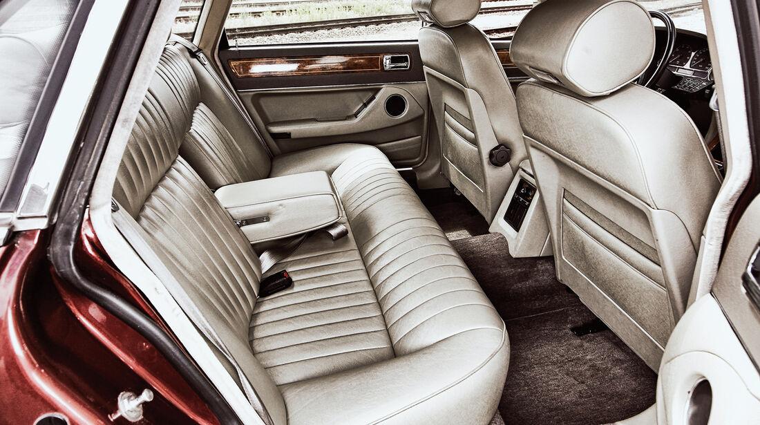 Jaguar XJ6, Fond, Rücksitze