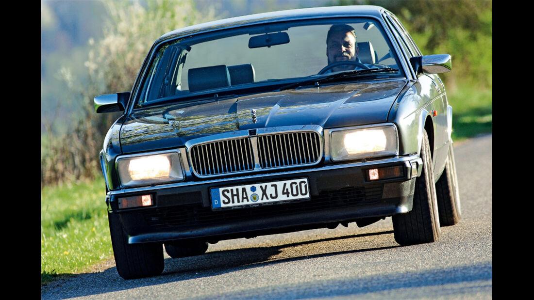 Jaguar XJ6, Front