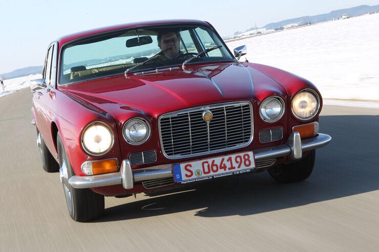 Jaguar XJ6, Frontansicht
