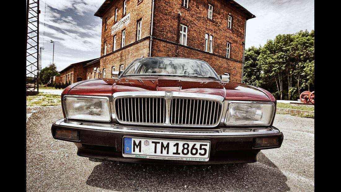 Jaguar XJ6, Frontscheinwerfer, Kühlergrill