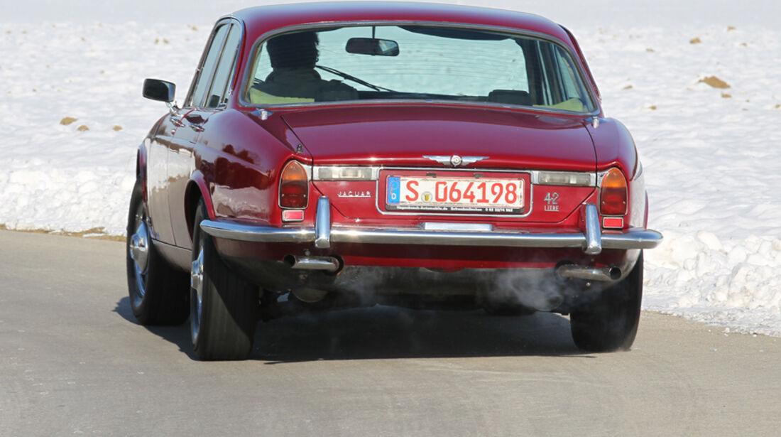 Jaguar XJ6, Heck