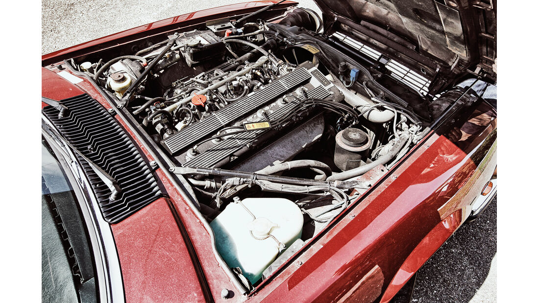 Jaguar XJ6, , Motor