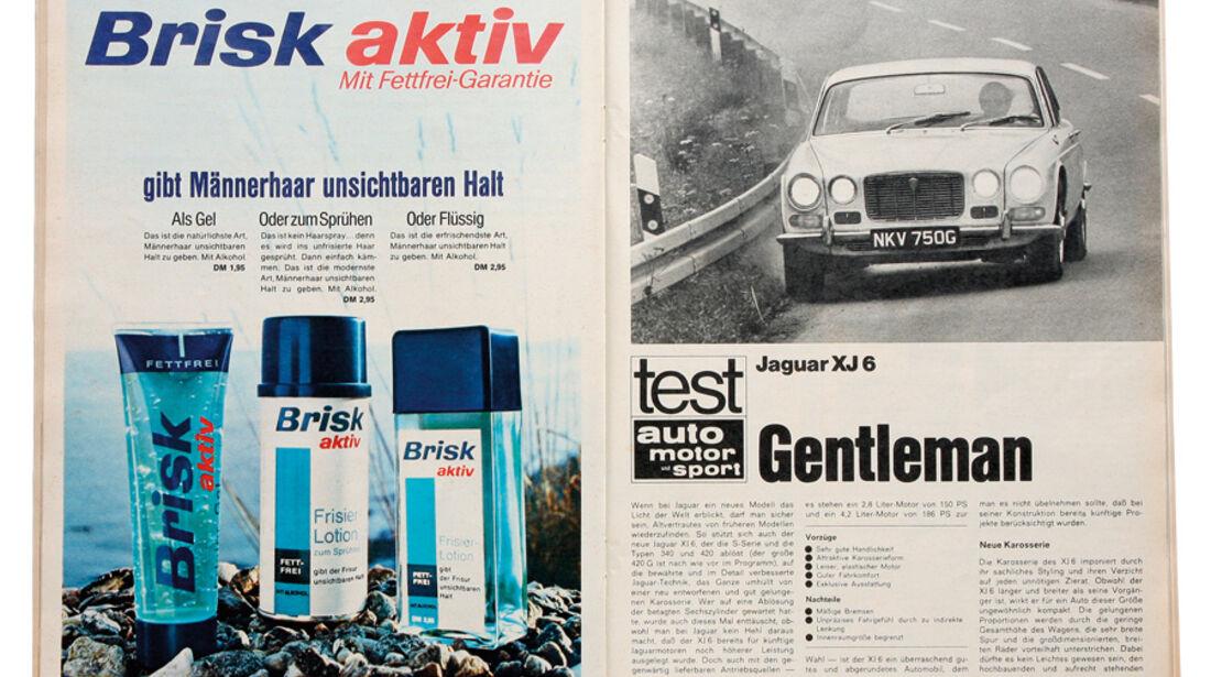 Jaguar XJ6, Testbericht, alt