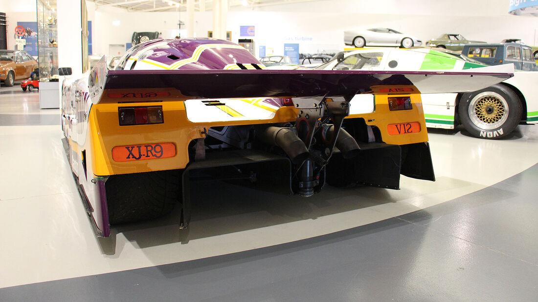 Jaguar XJR-9 im British Motor Museum