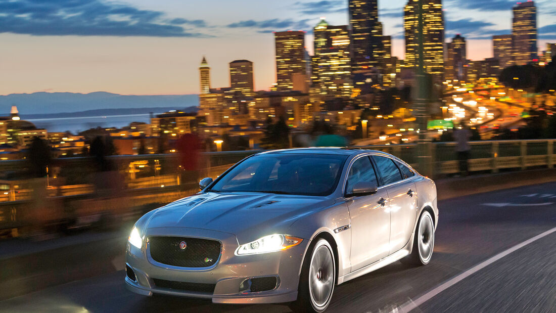Jaguar XJR, Seattle, Frontansicht